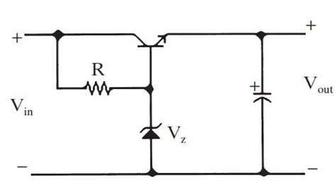 transistor zener how zener diode works as a voltage regulator power electronics a z