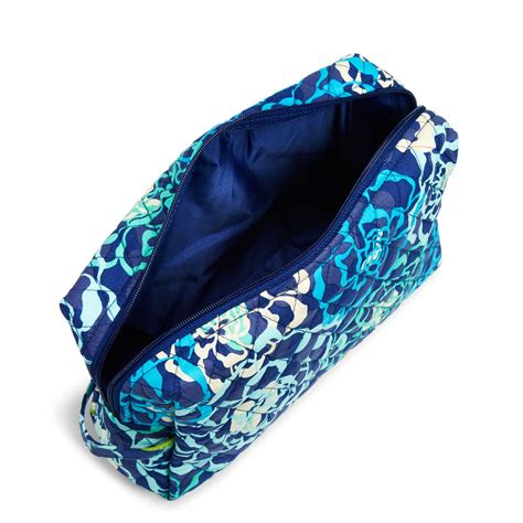 vera bradley factory exclusive large cosmetic bag ebay
