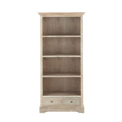libreria ancora libreria grigia in legno di paulonia l 85 cm cavaillon