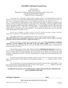 informed consent template best photos of template of informed consent form