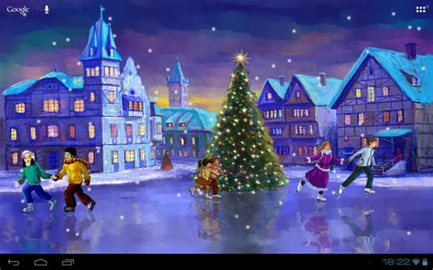 christmas live themes for windows 7 weihnachten rink livewallpaper android apps auf google play