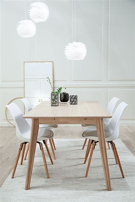 Scandinavian Style Dining Table Get The Look With Our Scandinavian Dining Table In Solid Ash Wood Scandinavian Style