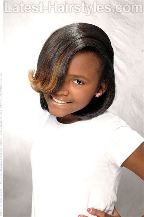 cute hairstyles you can do with a straightener 21 best images about black children hair on pinterest