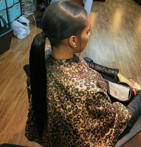 slick back weave hairstyles weave ponytail hair nails pinterest weave ponytail