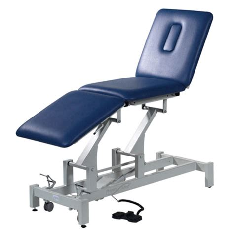 physiotherapy couches metron elite 3 section assessment couch electric