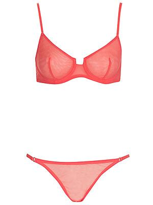 La Senza Push Up Satin Neon Green With Swarovski 10 best bright sets shop cosmo s edit of colourful