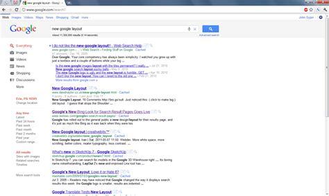 blog layout google new google search layout john sypin s blog