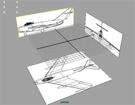 home design 3d import blueprint 3d maya 06 import image blueprint and model airplane