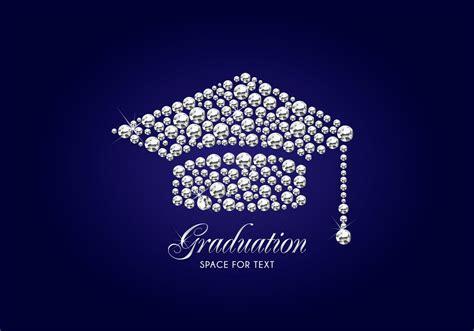graduation background templates free graduation cap vector background