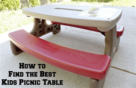 how to store little tikes picnic table why i love little tikes kids picnic tables finding the