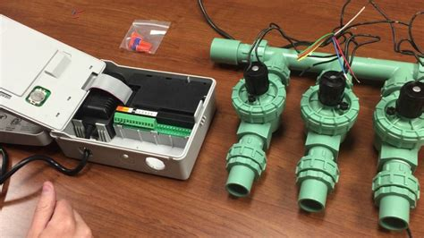 wire valves  timer youtube