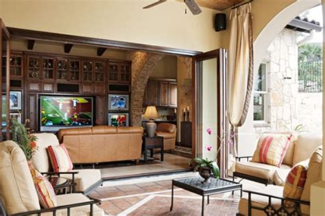 Living Room Layout With Patio Doors Open Up Your Living Room With Folding Patio Doors