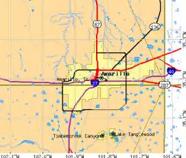 amarillo maps amarillo map