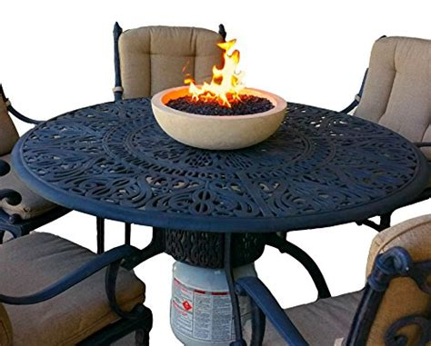 top propane fire bowl long burning artisan crafted propane fueled top fire