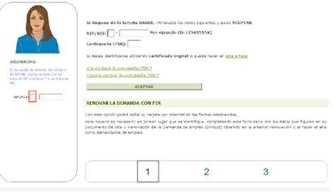 oficina virtual del inem renovar demanda de empleo barcelona treball