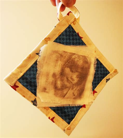 Handcrafted Textiles - handmade fabric and photo ornaments dairy barn
