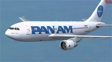 pan am pan am airbus a310 324 for fsx