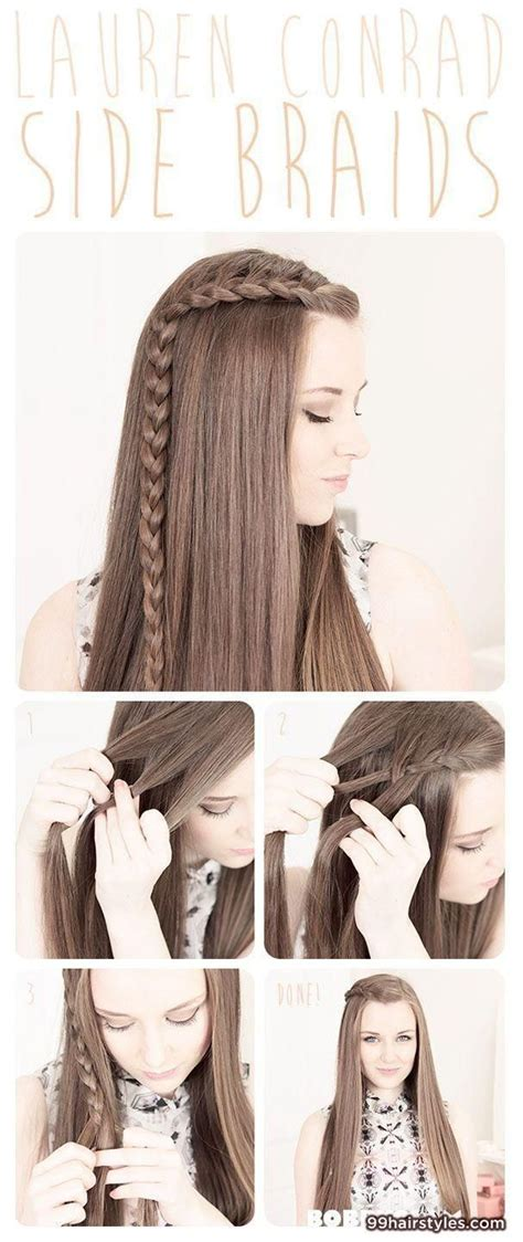 cute hairstyles really easy 25 best ideas about very easy hairstyles on pinterest