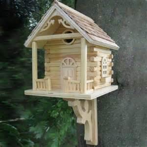 home bazaar cabin birdhouse decorative bird houses