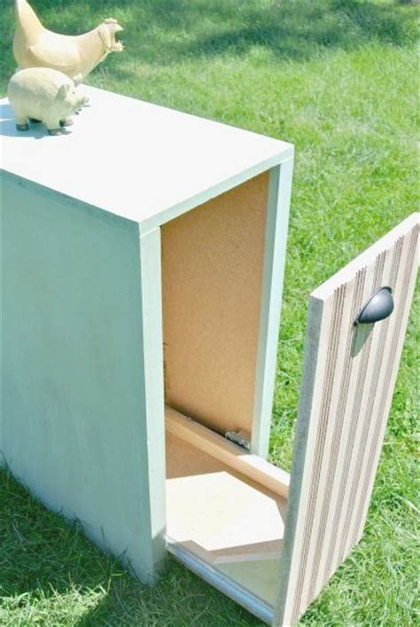 diy hidden trash can cabinet trash can cover ideas for the house stove