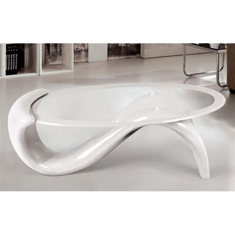 White Glass Coffee Table Panama Glass Top Coffee Table With White Base 10914 Furnitur