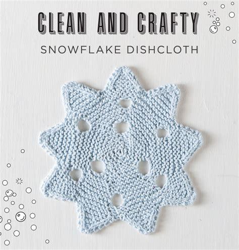 pattern for snowflake dishcloth free snowflake dishcloth pattern from knitpicks com