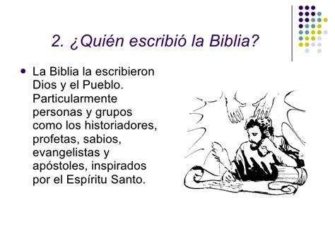 quien escribio la biblia introducci 243 n a la biblia 02