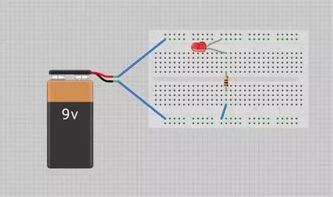 bread board circuit connection 2 answers how to learn to make connections in a simple breadboard circuit