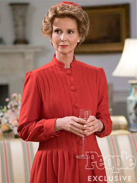 nancy reagan killing reagan cynthia nixon plays nancy reagan first