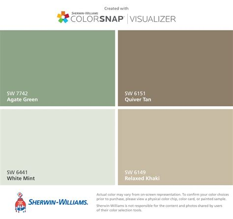 paint color quiver sherwin williams agate green sw 7742 white mint sw