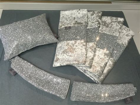 silver cushions bedroom stunning silver glitter bedroom set bed runner claira