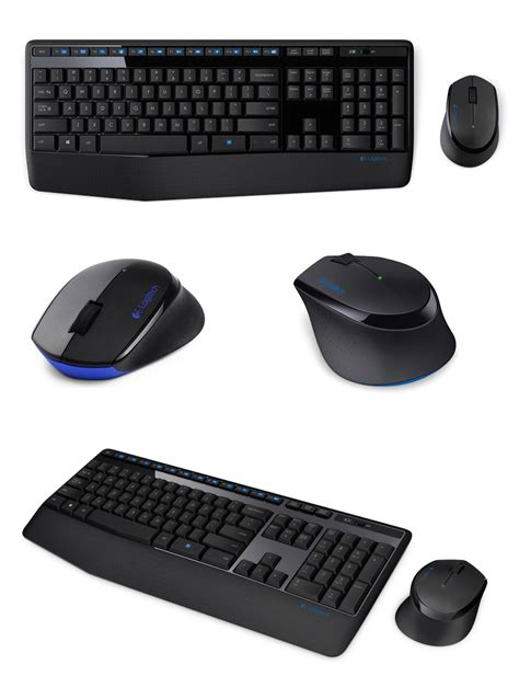Logitech Mk345 Wireless Combo Keyboard Mouse logitech mk345 wireless keyboard and mouse combo 920 006491 pc gear