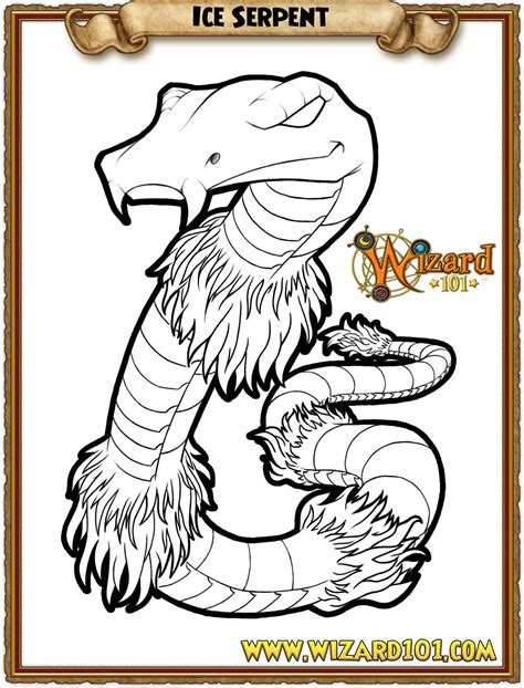wizard101 coloring pages s page s december of colorful contests
