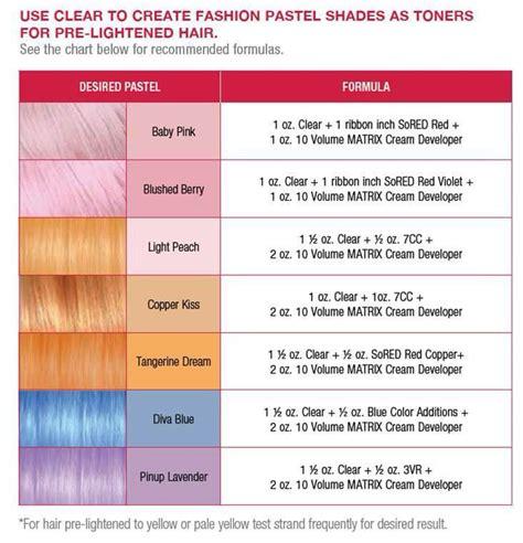 hair color formula the 25 best matrix hair color ideas on hair