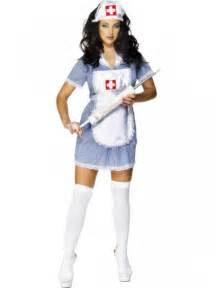naughty nurse fancy dress costume