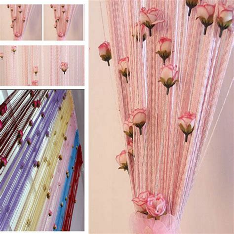 cheap string curtains how to decorate curtains with tassels curtain