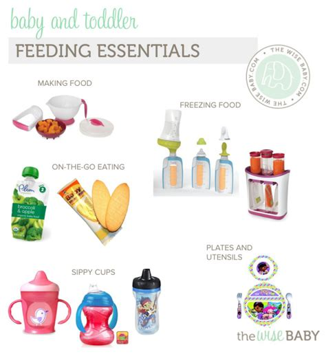 baby feeding essentials