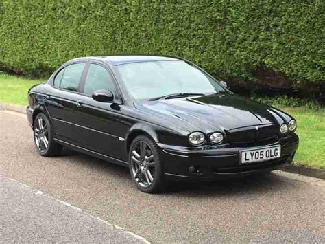 jaguar x type 2 0d sport jaguar 2005 05 x type 2 0d sport premium only 60 000