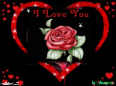 love you heart and roses i love you rose heart gif by lybraqueen photos