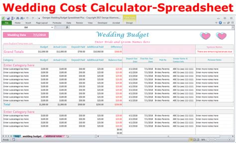 house buying cost calculator wedding costs calculator excel wedding expenses worksheet printable buyexceltemplates com