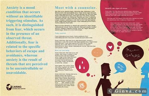 free therapy brochure templates free microsoft office brochure templates ginva