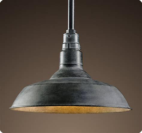 Barn Pendant Lights Make Your Own Farmhouse Light For Less