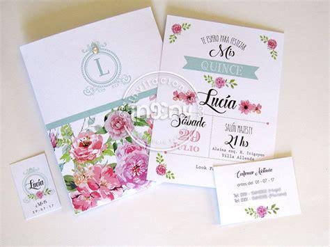 tarjeta de 15 floral chic tarjetas de 15 invitaciones originales invitacion 15 a 241 os quincea 241 os mis quince tarjeta de quince arte y