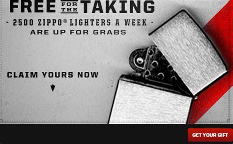 Marlboro Giveaways - free zippo lighter