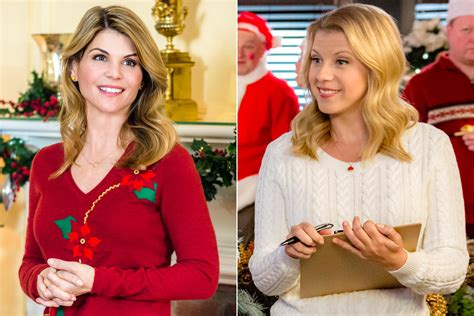 lori loughlin new christmas movies full house s lori loughlin jodie sweetin to star in