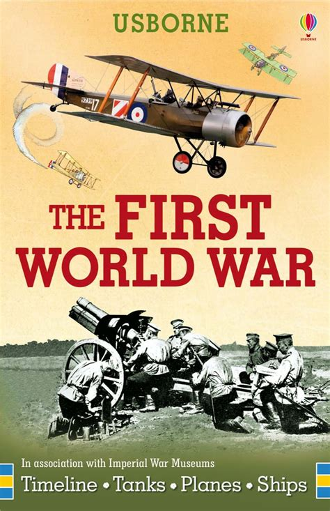 libro my first world war the first world war cards at usborne books at home