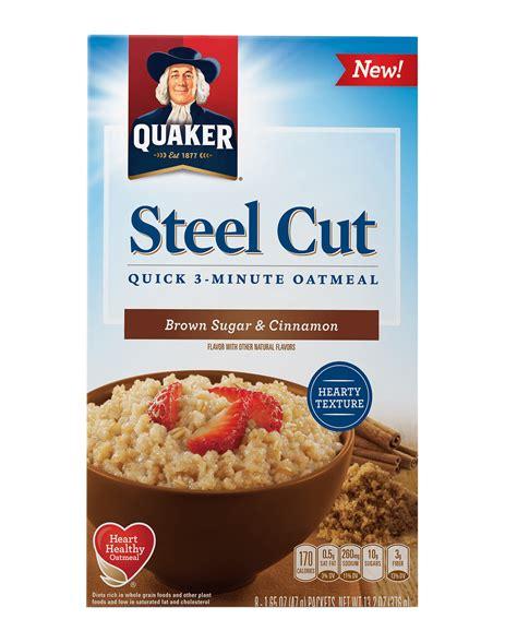 whole grains or steel cut oats product cereals quakeroats