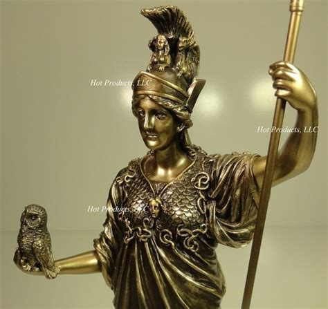 goddess of color athena goddess of wisdom spear owl mythology