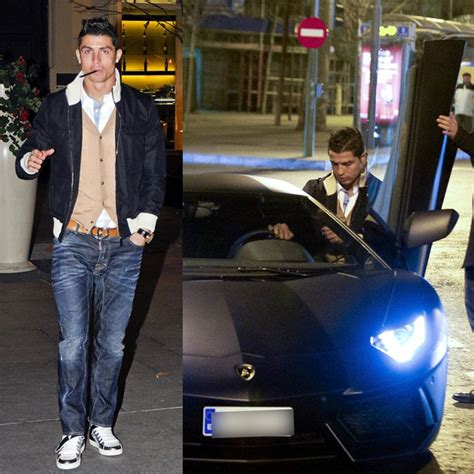 Cristiano Ronaldo Lamborghini Cristiano Ronaldo Drives 450 000 Lamborghini Aventador