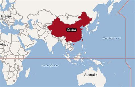 china world map maps world map of china